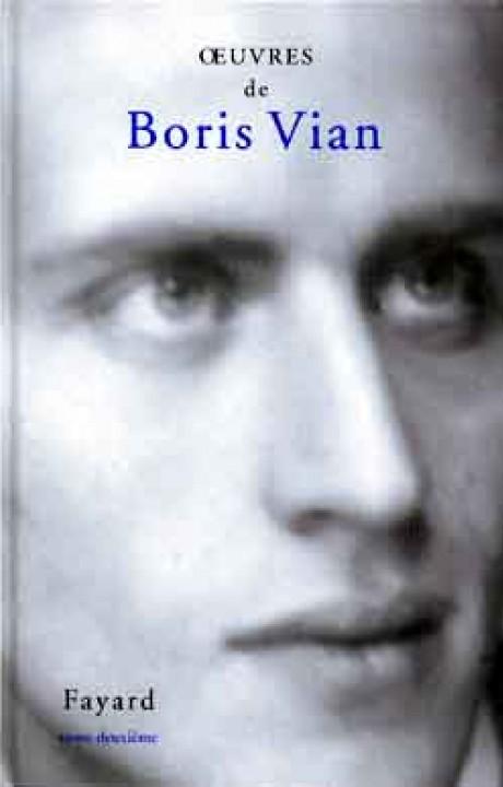 Oeuvres de Boris Vian Tome 2