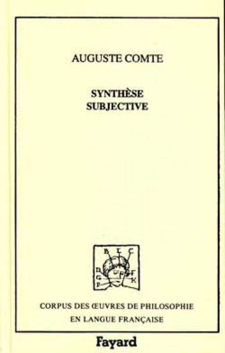 Synthèse subjective