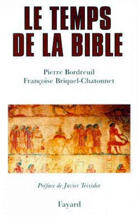 Le temps de la Bible