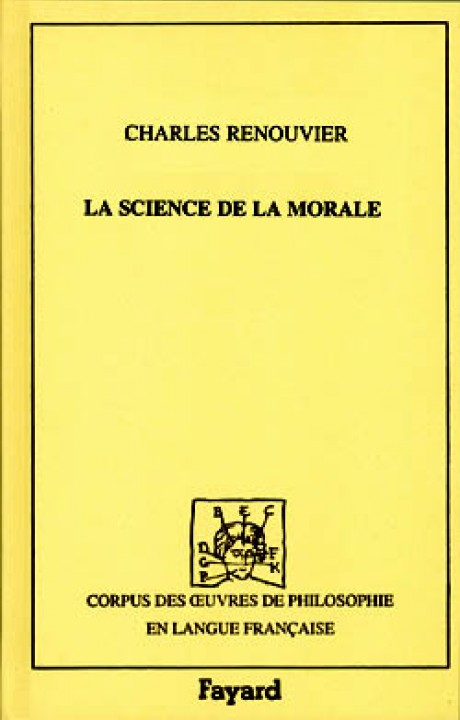 Science de la morale, 1869 - Tome 1