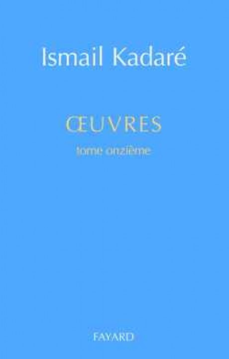Oeuvres complètes, tome 11