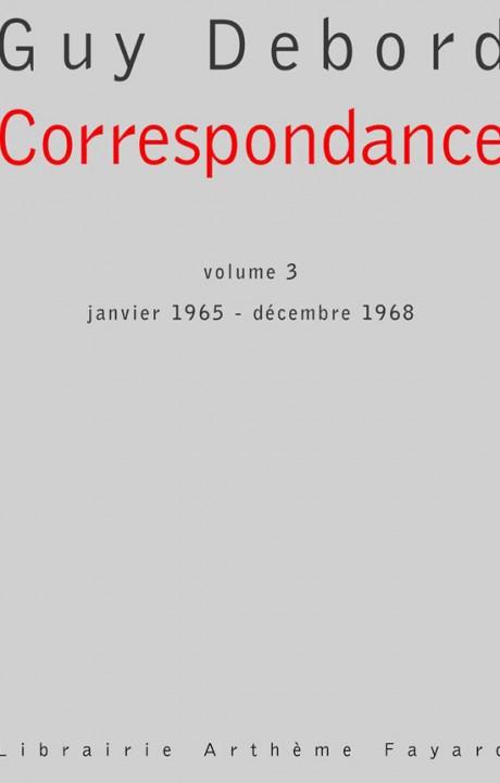 Correspondance, volume 3