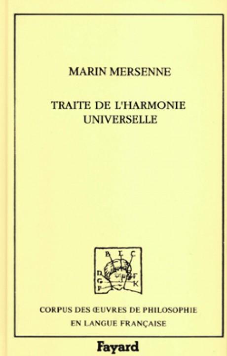 Traité de l'harmonie universelle, 1627