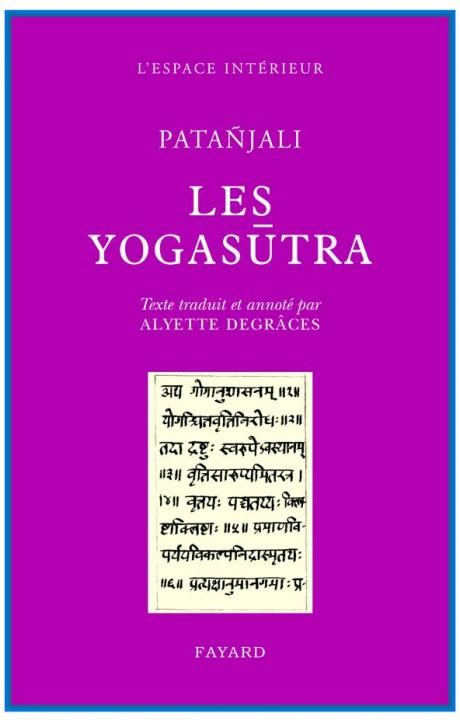 Les Yogasûtra de Patañjali