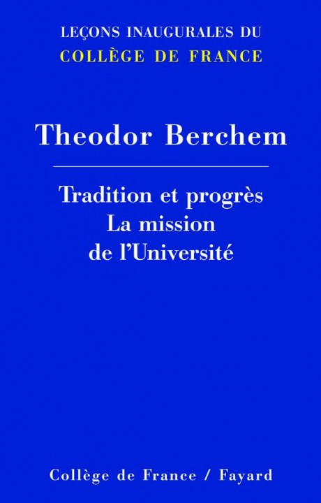Tradition et progrès