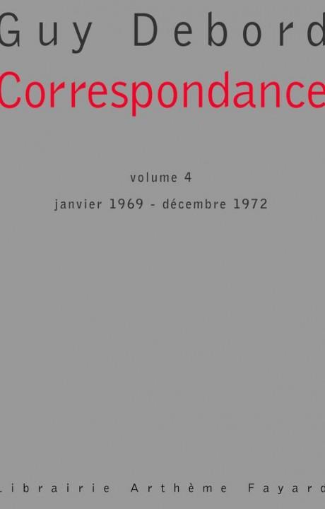 Correspondance, tome 4