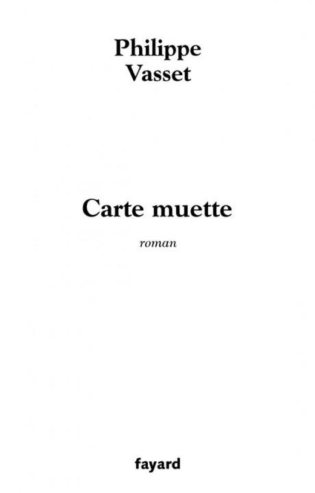 Carte muette