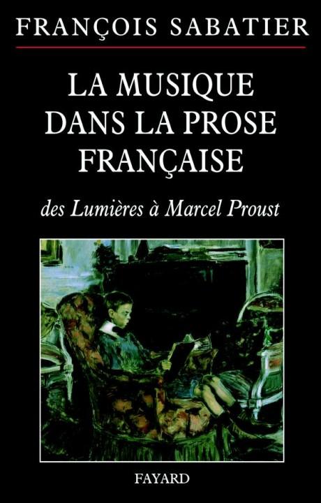 La musique dans la prose française