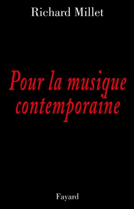 Pour la musique contemporaine