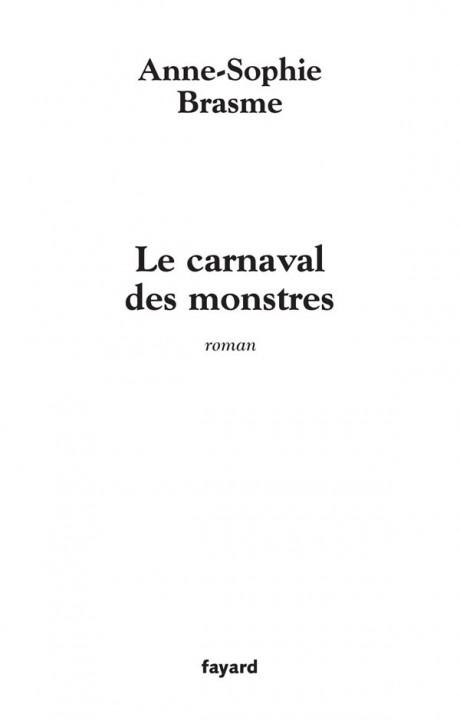 Le Carnaval des monstres