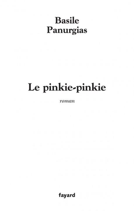 Le pinkie-pinkie