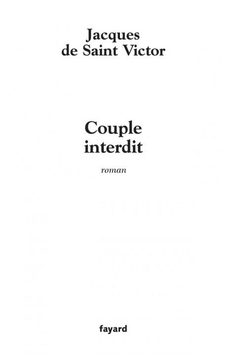 Couple interdit