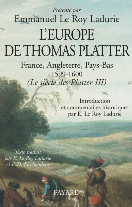 L'Europe de Thomas Platter