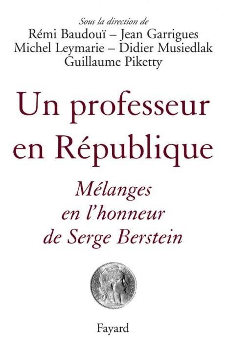 Un professeur en République