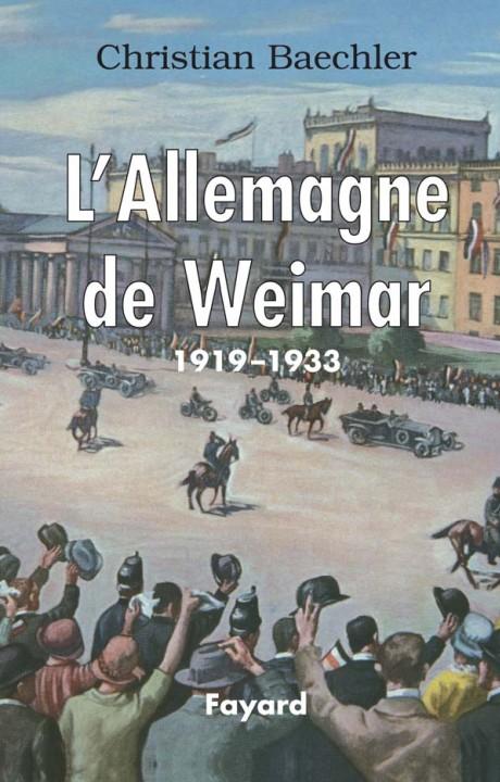 L'Allemagne de Weimar