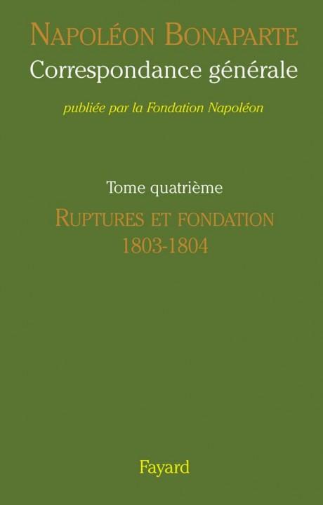 Correspondance générale de Napoléon