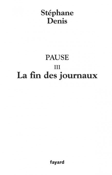 Pause III