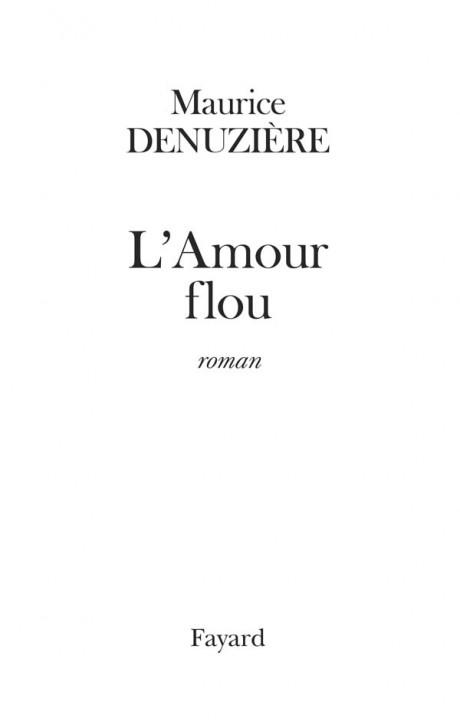 L'Amour flou (réédition)