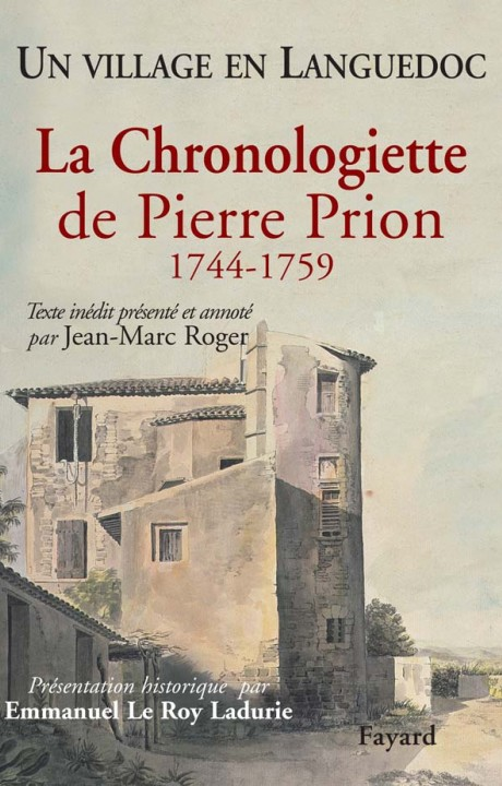 La Chronologiette de Pierre Prion