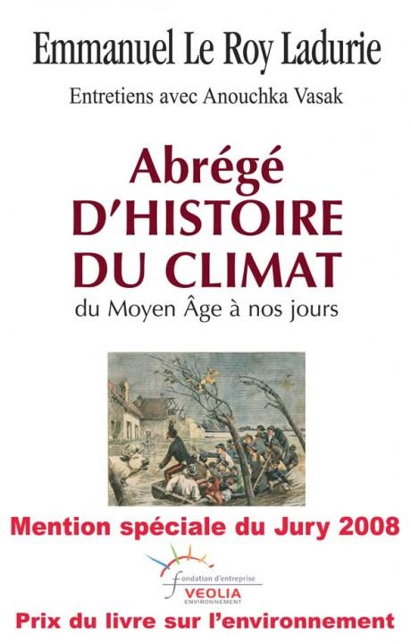 Abrégé d'histoire du climat