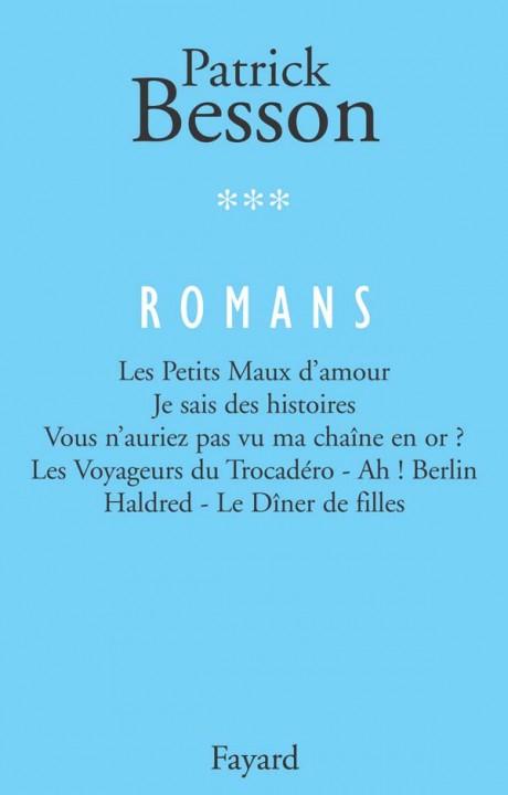 Romans, tome 3