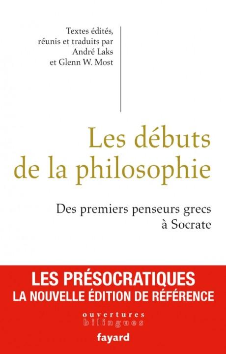 Les débuts de la philosophie