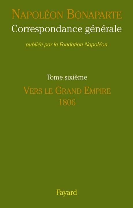 Correspondance générale - Tome VI