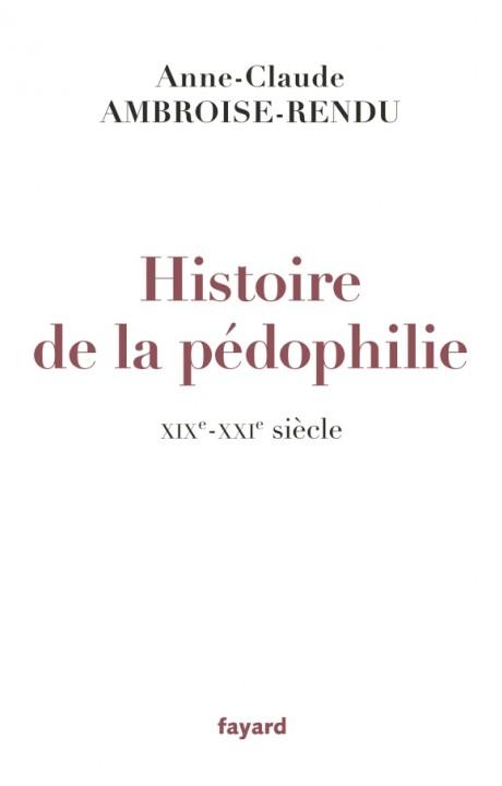 Histoire de la pédophilie