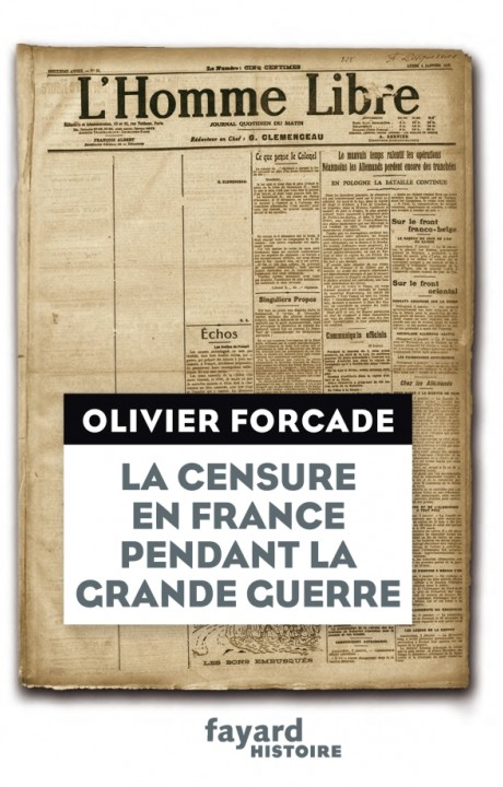 La Censure en France pendant la Grande Guerre
