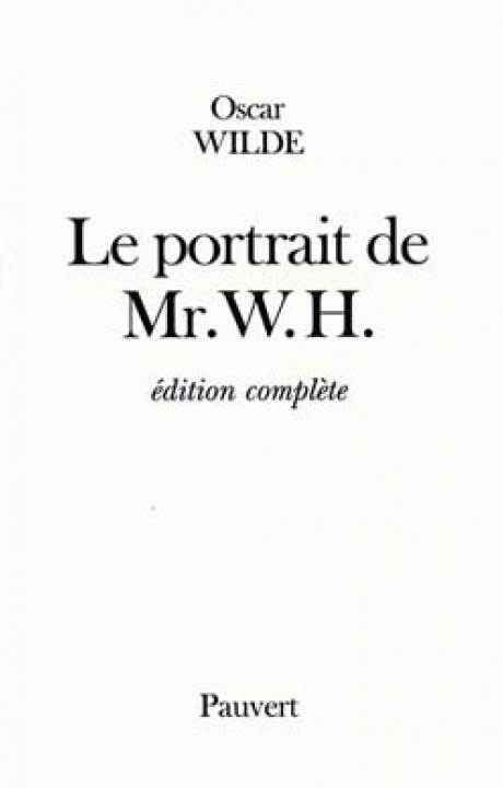 Le Portrait de Mr. W.H.