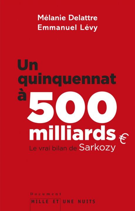 Un quinquennat à 500 millards