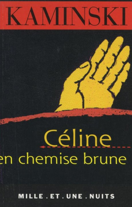 Céline en chemise brune