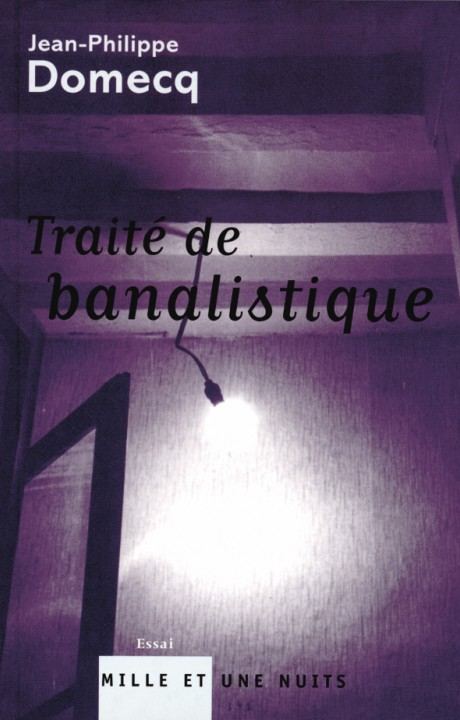 TRAITE DE BANALISTIQUE